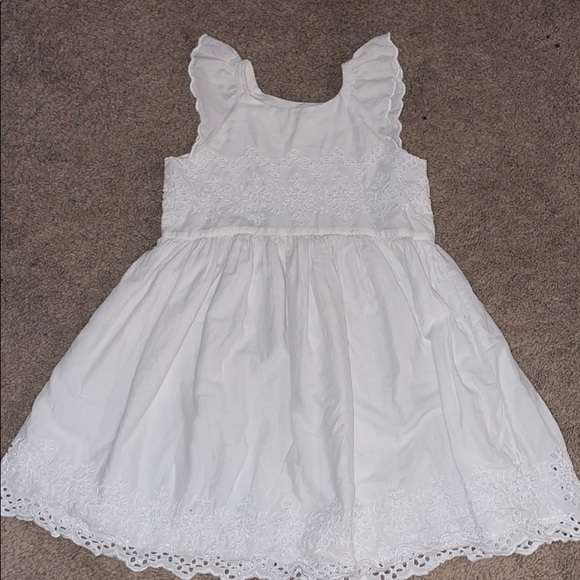 Girls white GAP dress size 5